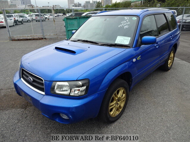 Used 2005 SUBARU FORESTER BF640110 for Sale