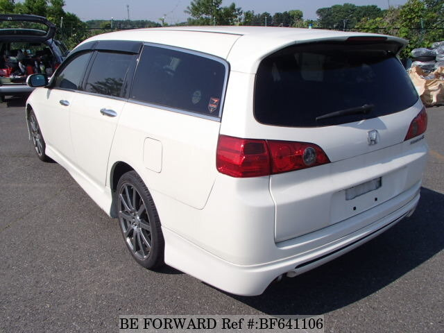 used 2007 honda accord wagon type s aba cm2 for sale bf641106 be forward. Black Bedroom Furniture Sets. Home Design Ideas