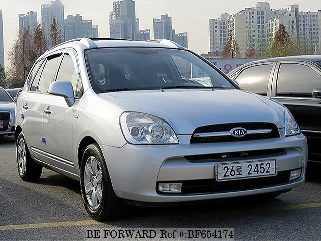 2007 kia carens glx d 39 occasion en promotion bf654174 be. Black Bedroom Furniture Sets. Home Design Ideas