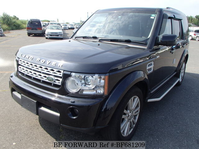 LAND ROVER / Discovery 4 (ABA-LA5N)