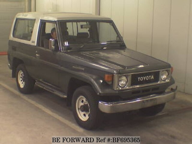 TOYOTA / Land Cruiser (P-BJ74V)