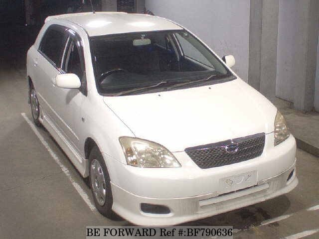 TOYOTA / Corolla Runx (UA-ZZE122)