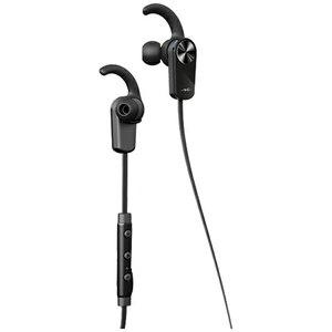 eb548f6c7b5 Radius bluetooth earphone canal type Black HP-BTF01 [remote-control  microphone-adaptive/wireless (right and left c.