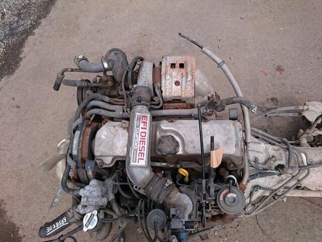 [Used]Engine & Transmission 2L-TE 4WD AT TOYOTA Landcruiser Prado