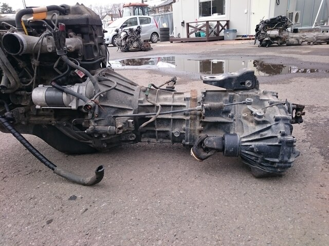 Engine And Transmission >> Used Engine Transmission 2l 4wd Mt Toyota Hiace