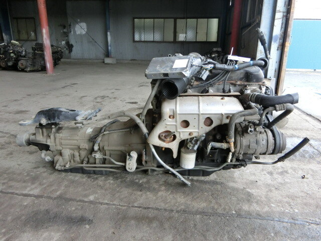 [Used]Engine & Transmission 1RZ 2WD AT