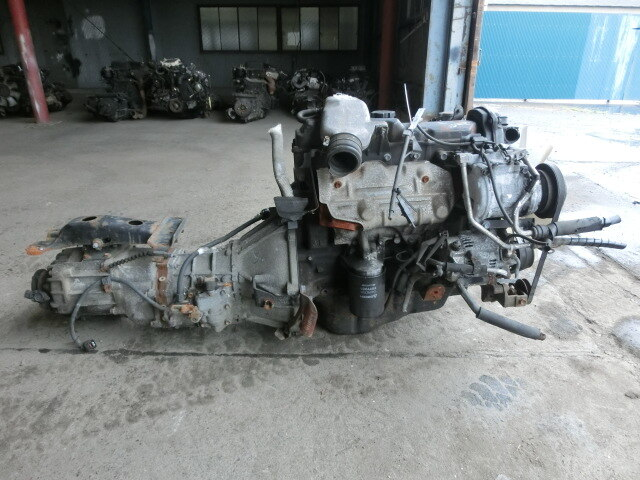 Engine And Transmission >> Used Engine Transmission 3l 4wd Mt Toyota Hiace Van