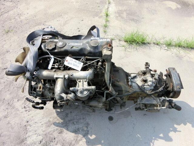 [Used]Engine & Transmission 4D33 2WD MT BlackHead MITSUBISHI Canter