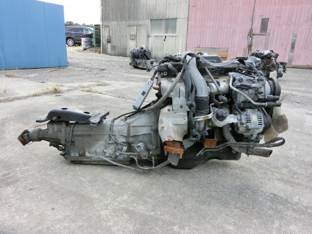 [Used]Engine & Transmission 1KZ-TE 2WD AT