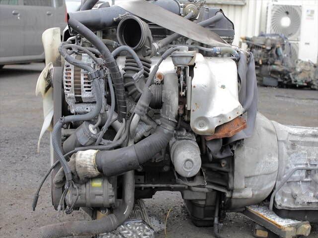 Usedengine Transmission Zd30t 2wd At Nissan Elgrand Be