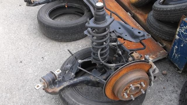 Forwarder Rear Axle : Used rear axle beam assembly honda odyssey dba rb be