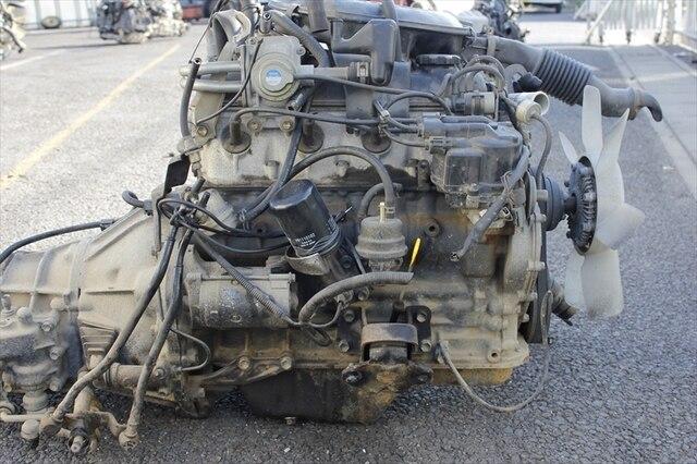 Usedengine Transmission 2y Toyota Hilux Truck Tyn85 Be