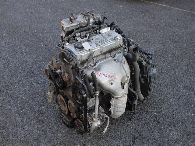[Used]Engine & Transmission 4G63 MITSUBISHI Airtrek LA-CU2W