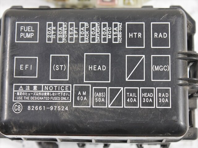PAT00116 38_526ba4 used] fuse box daihatsu atrai 7 ua s221g be forward auto parts ba fuse box at reclaimingppi.co