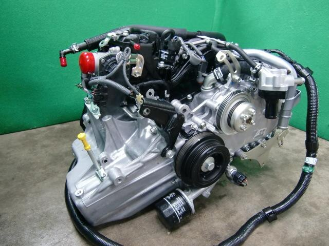 Used]Engine DAIHATSU Hijet EBD-S321V - BE FORWARD Auto Parts