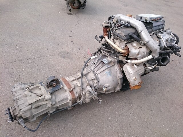 Used engine transmission 1kz te 4wd mt be forward for Rebuilt motors and transmissions