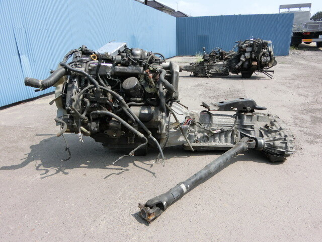 Used Engine  U0026 Transmission 1kz-te I  C With Atm Toyota Hiace Wagon Kzh106g