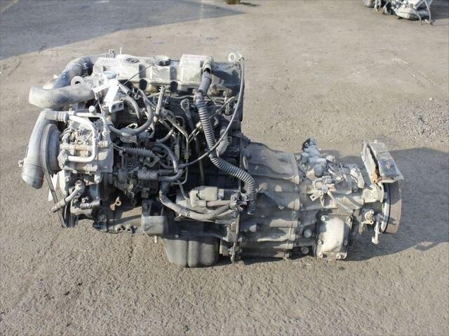 [Used]Engine & Transmission 4M40 2WD MT MITSUBISHI Canter