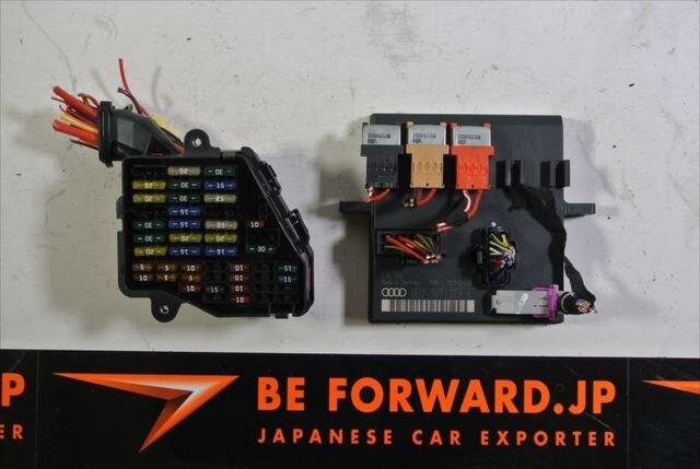 FUSE BOX AUDI A4 GH-8EBDV Japanese Car Fuse Box on