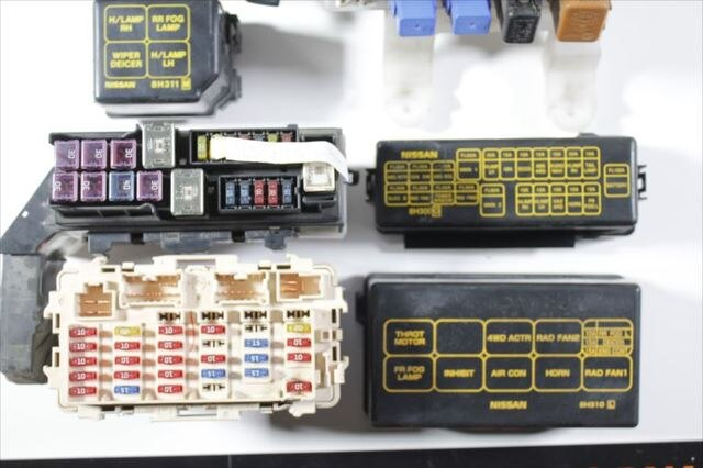Nissan X Trail T30 Fuse Box