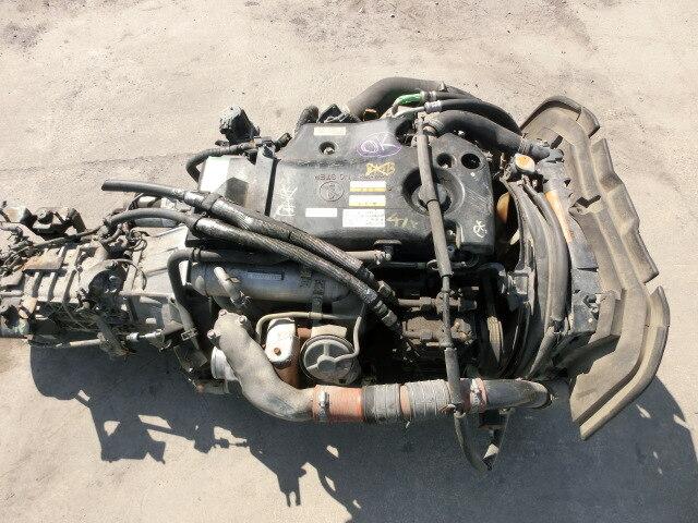 [Used]Engine & Transmission 4JJ1-T I/C