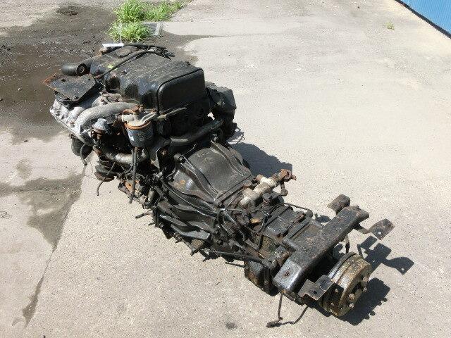[Used]Engine & Transmission 4D35 2WD MT