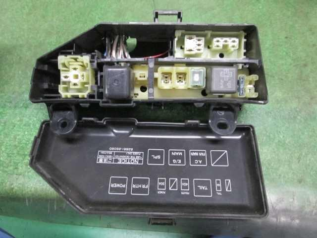 Fuse Box In Toyota Hiace : Used fuse box toyota hiace kc lh v be forward