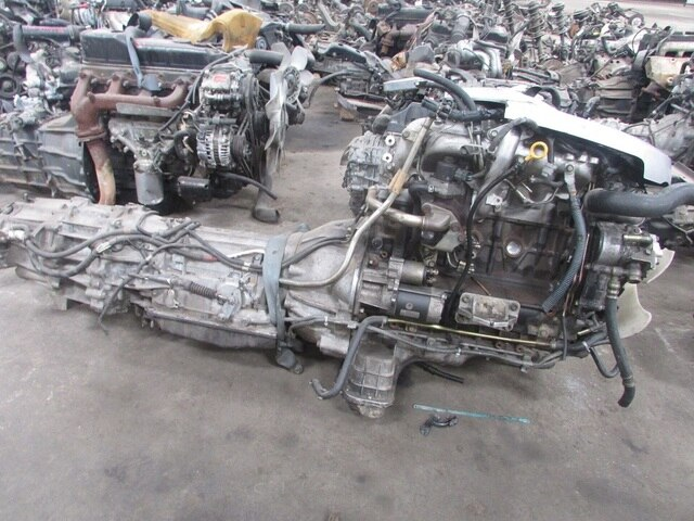 Used Engine Amp Transmission Zd30 T 4wd At Nissan Elgrand