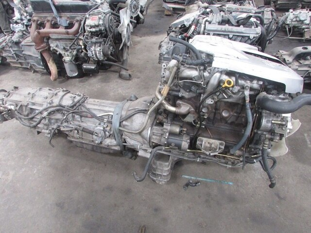 Usedengine Transmission Zd30t 4wd At Nissan Elgrand Be