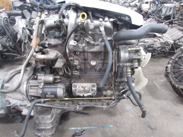 Used Engine  U0026 Transmission Zd30
