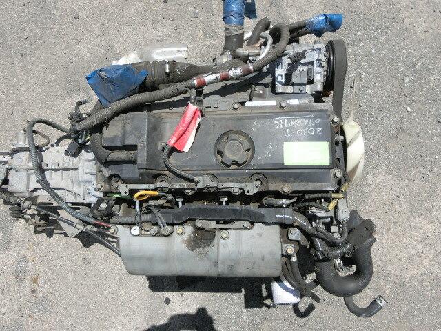 Used]Engine & Transmission ZD30-TURBO - BE FORWARD Auto Parts