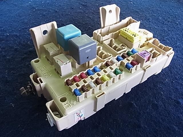 toyota wish fuse box toyota wish fuse box diagram [used]fuse box toyota wish dba-zne10g 8273068040 - be ... #2