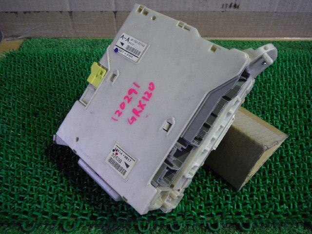 used fuse box toyota mark x 2005 dba grx120 be forward auto parts rh autoparts beforward jp 2006 toyota mark x fuse box location