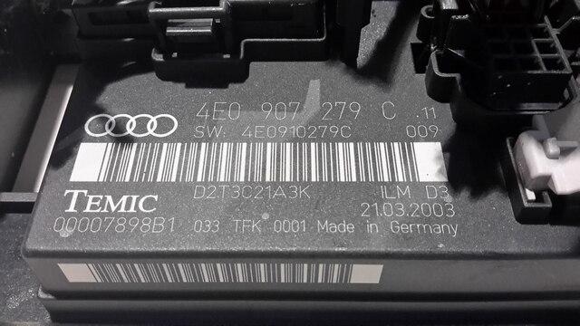Audi A8 Fus Box