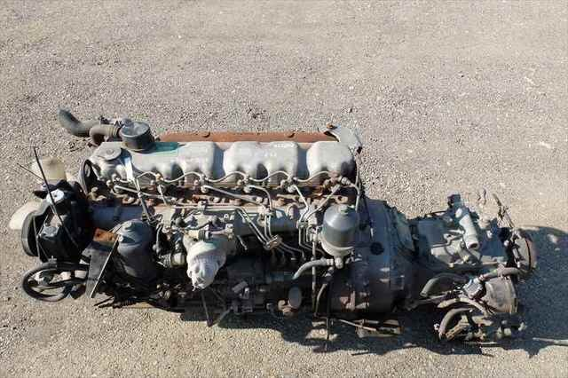 [Used]Engine Only 6D15-0A, 5SP MITSUBISHI FUSO