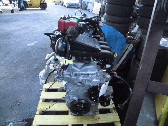 [Used]Engine NISSAN Latio 2013 DBA-N17