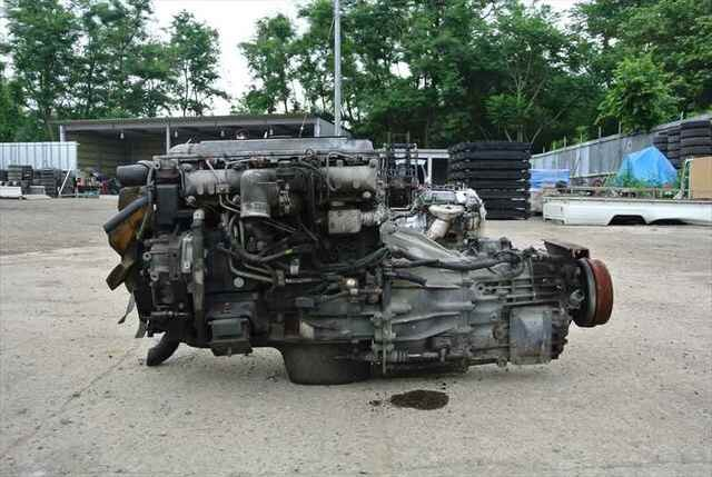 [Used]Engine&Transmission 4M51 2WD MT MITSUBISHI CANTER, FE53EB