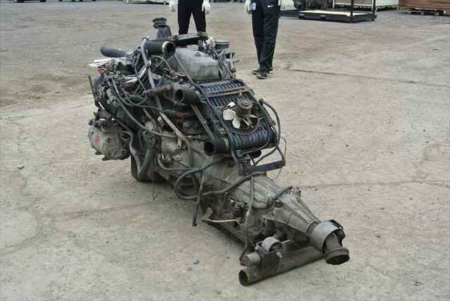 [Used]Engine&Transmission 4D56-T 2WD AT MITSUBISHI DELICA CARGO PA5V