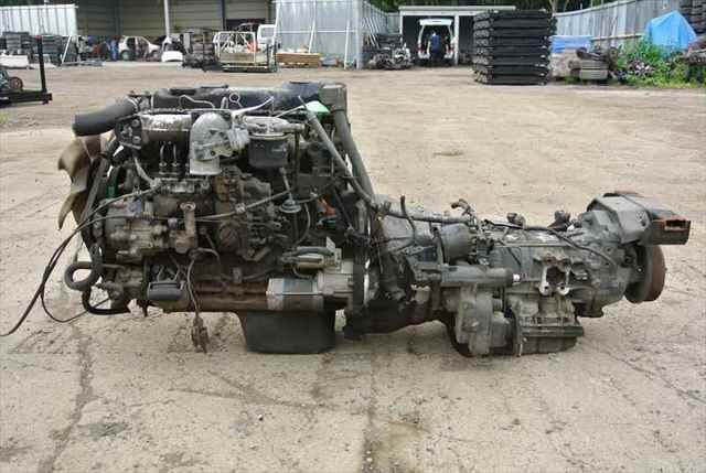 [Used]Engine and Transmission Assy 4D32 2WD MITSUBISHI CANTER