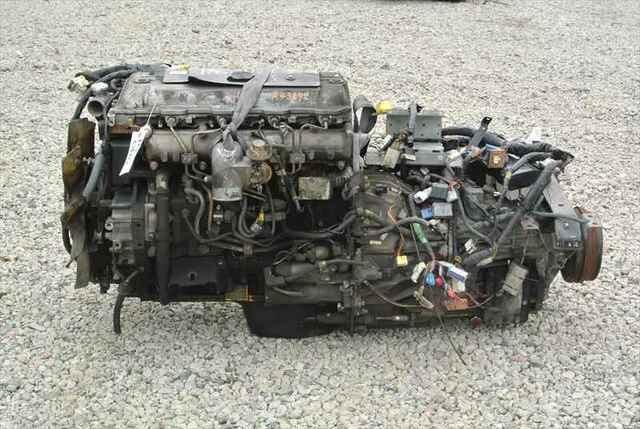 [Used]Engine&Transmission 4M51 MITSUBISHI CANTER, KK-FE51EB