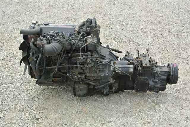 [Used]Engine&Transmission 4HG1 ISUZU ELF, KC-NKR71E