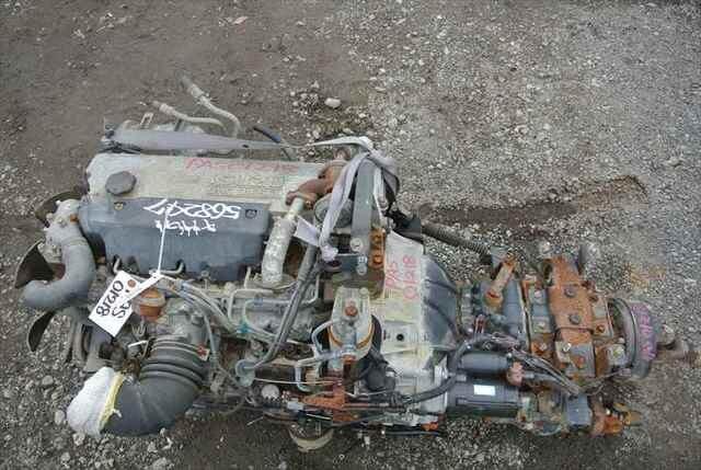 [Used]Engine&Transmission 4HG1 2WD MT ISUZU ELF, KC-NKR71E