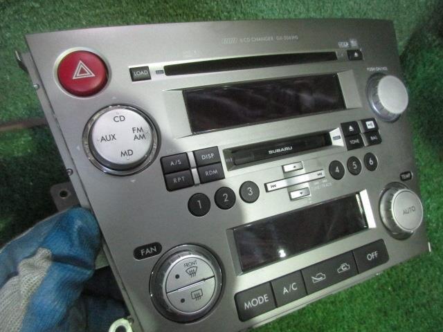Usedaudio Subaru Legacy 2007 Cbabp5 86201ag700 Be Forward Auto Partsrhautopartsbeforwardjp: 2007 Subaru Legacy Audio At Gmaili.net