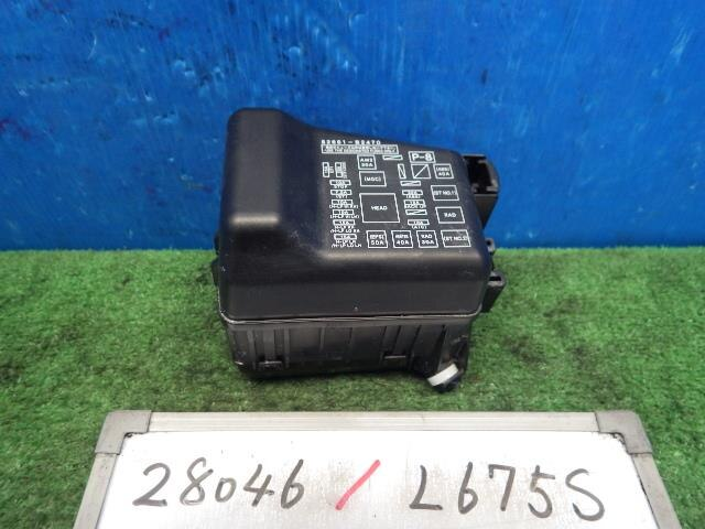 used fuse box daihatsu mira cocoa be forward auto parts rh autoparts beforward jp daihatsu mira fuse box location daihatsu mira fuse box location