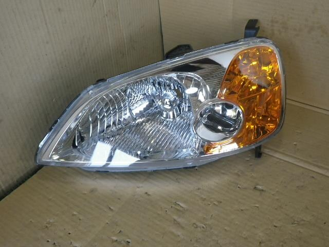 Left Headlight Honda Civic 2002 Un En2 33151s5a003