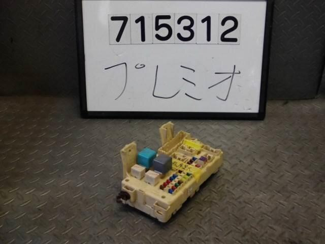 used fuse box toyota premio 2006 cba nzt240 be forward auto parts rh autoparts beforward jp toyota allion fuse box location toyota allion fuse box