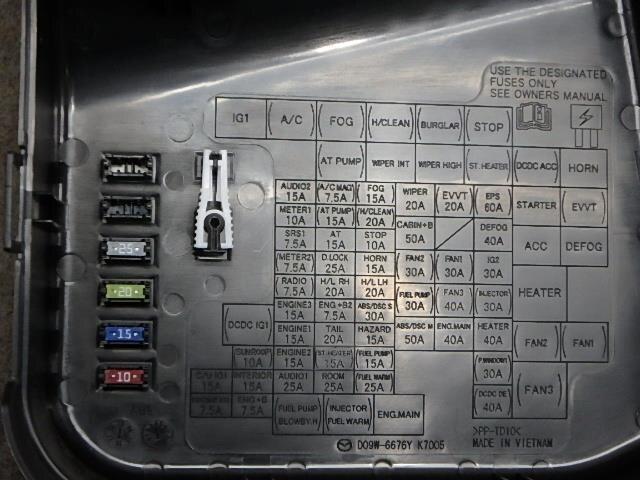 [SCHEMATICS_4FR]  Used]Fuse Box MAZDA Demio 2017 DBA-DJ3FS - BE FORWARD Auto Parts | Mazda Demio Fuse Box |  | BE FORWARD Auto Parts
