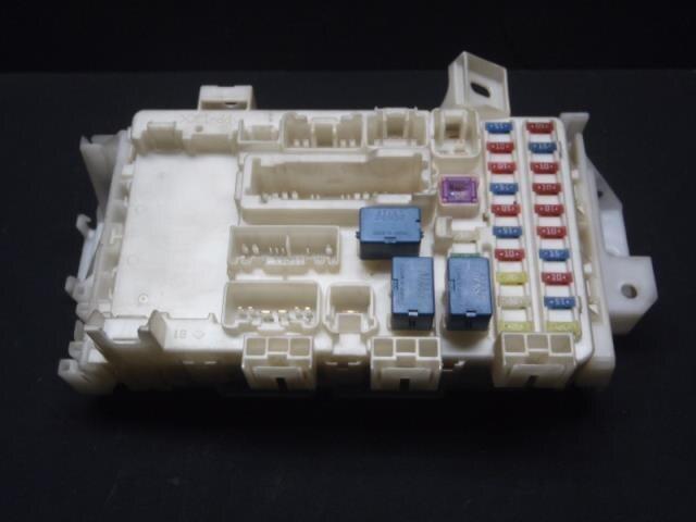 fuse box suzuki wagon r 2012 dba-mh23s