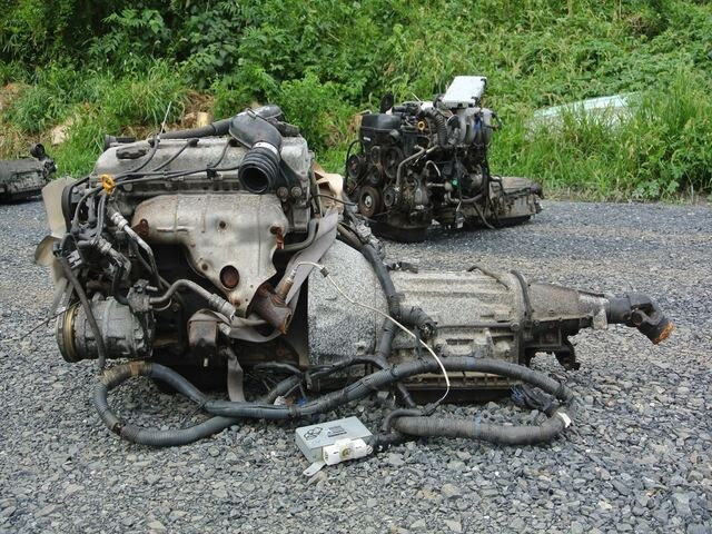 [Used]Engine&Transmission KA20 2WD AT NISSAN CARAVAN, VPGE24