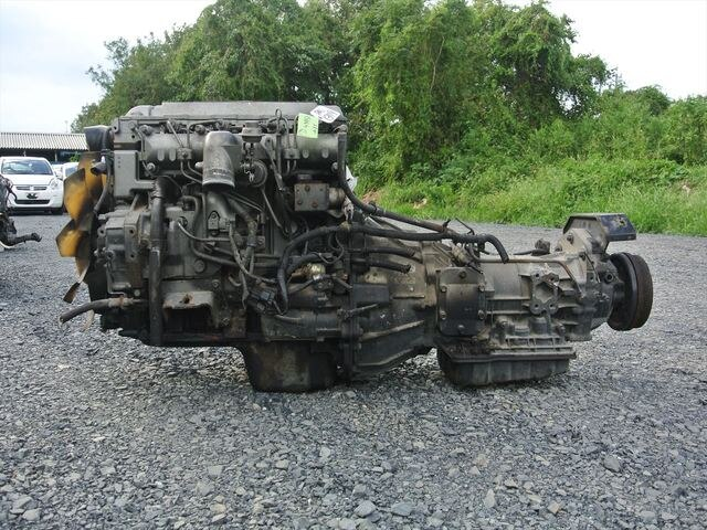 [Used]Engine&Transmission 4M51 2WD AT MITSUBISHI CANTER, FE62EE